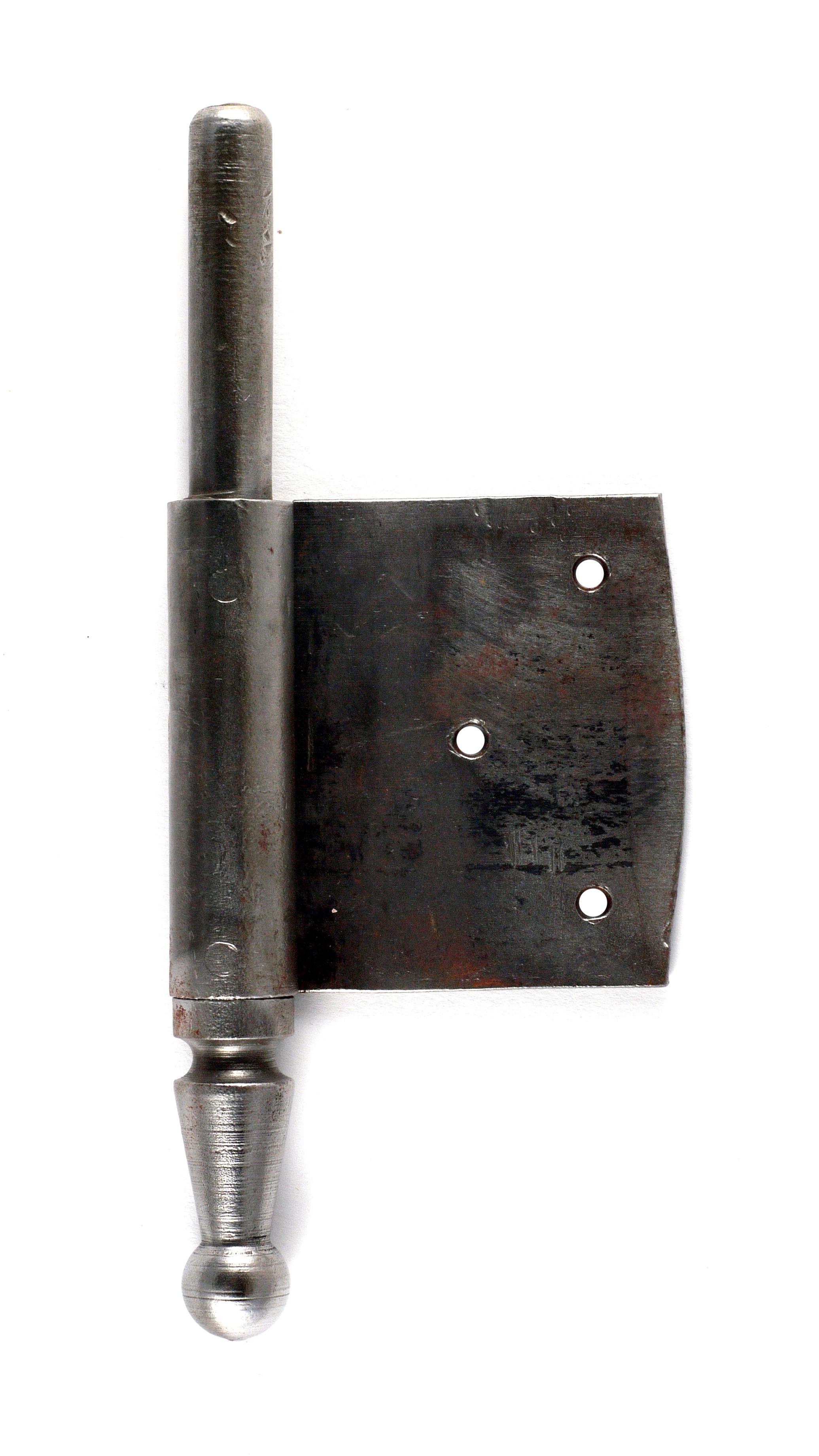 Fitschenband 1/2 in Eisen DIN rechts
