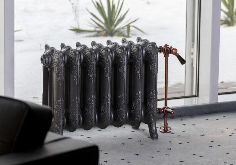 Gussheizkörper Modell Floreal mit 7 Glieder