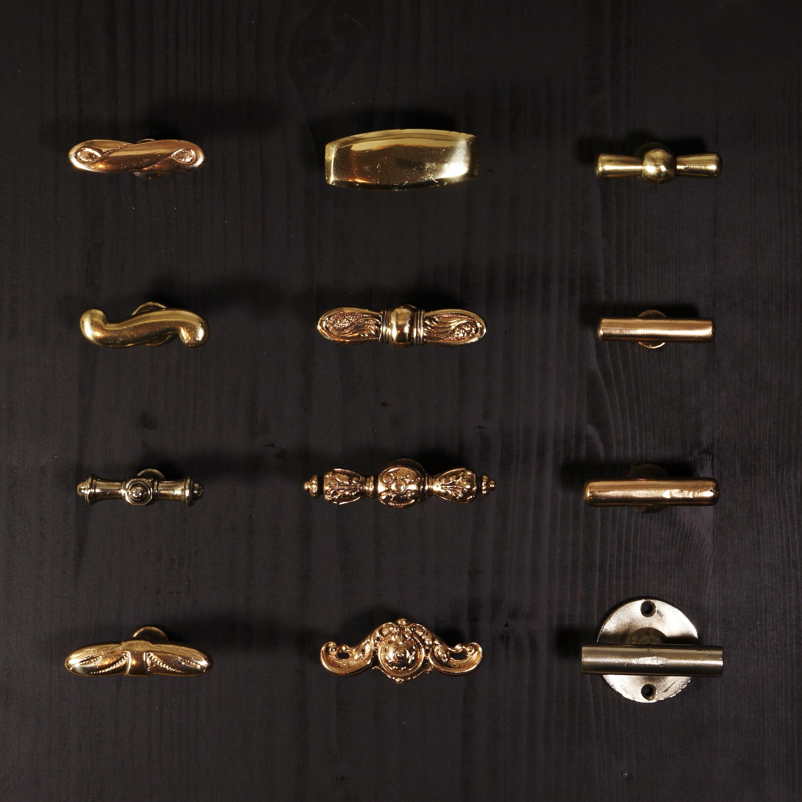 WC- / Nachtriegel Muster alle Stilepochen - antike Türdrücker, Türklinken, Türbeschläge