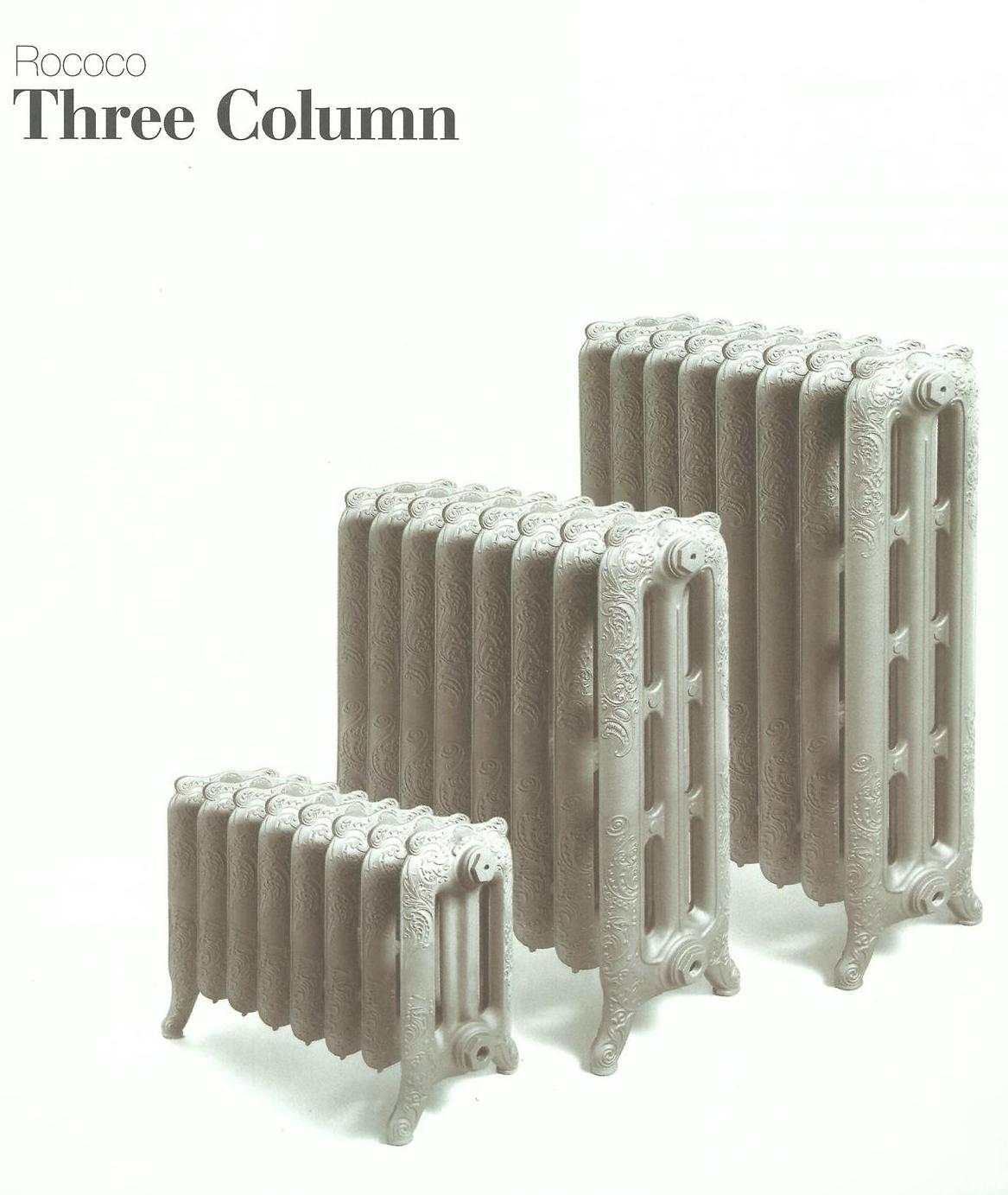 17.012.GH Gusseisenheizelement Three Column