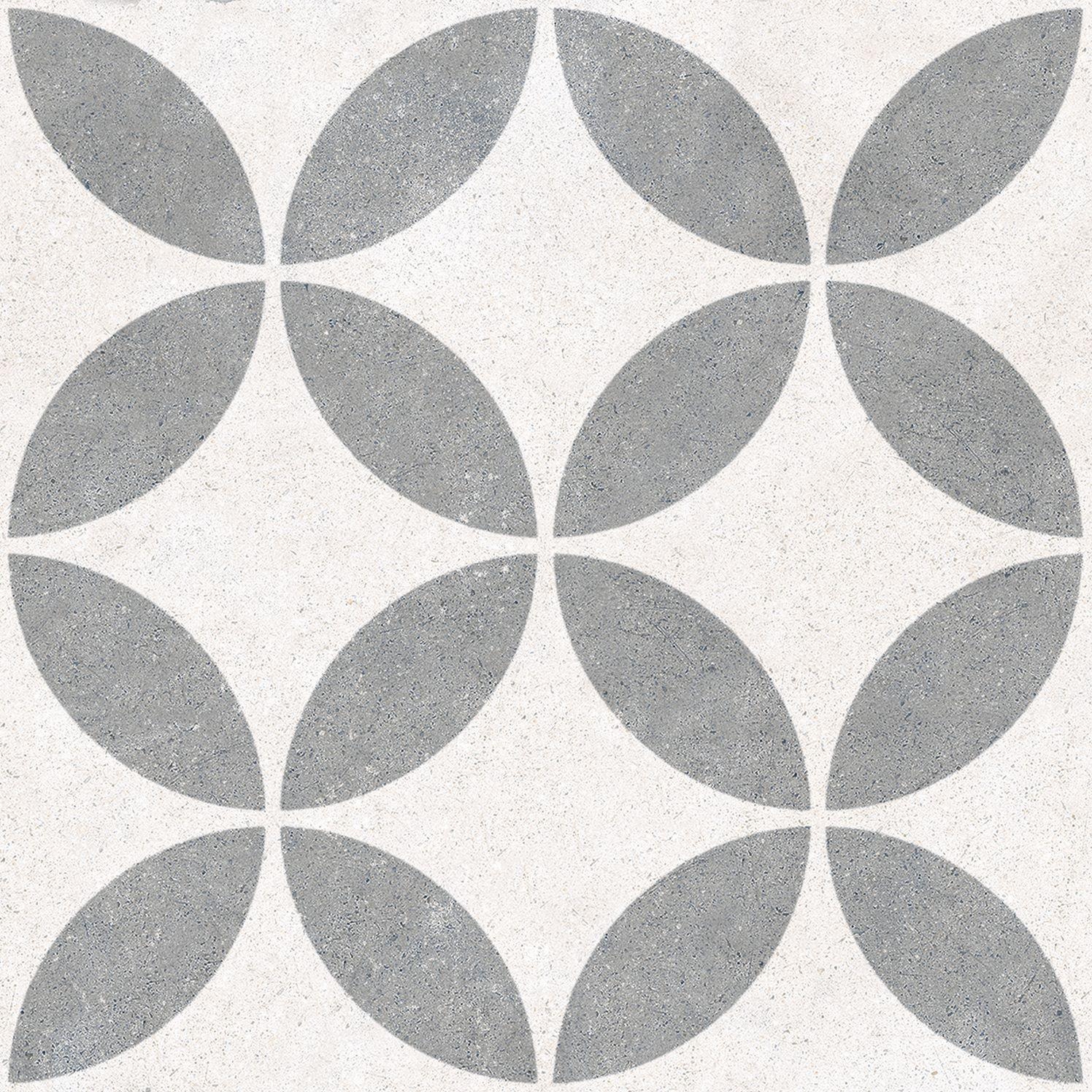 6.0017.21  Codicer Retrofliese / Feinsteinzeug VINTAGE DOVER GREY