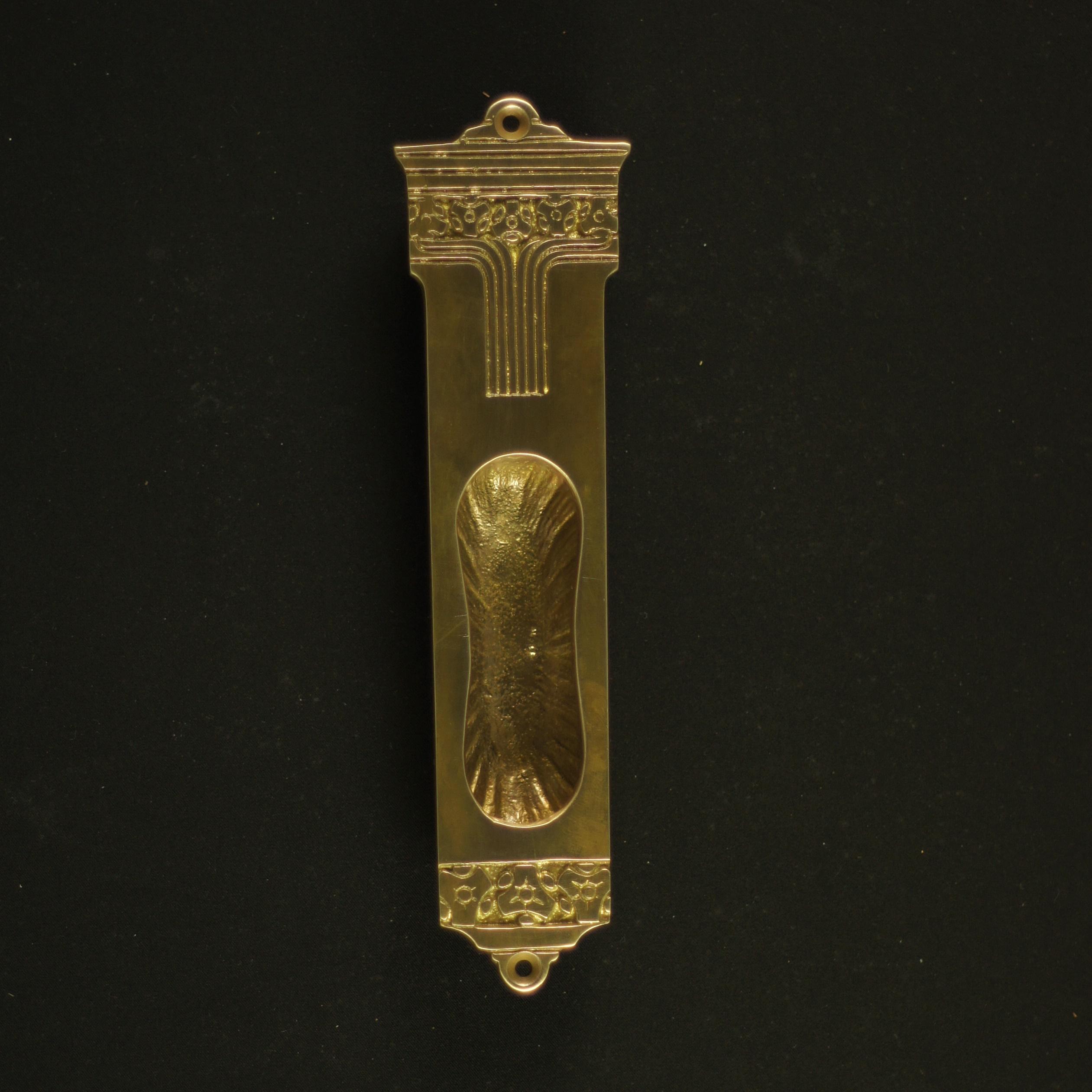 325.0018.45  Schiebetürmuschel Jugendstil - antike Türmuschel