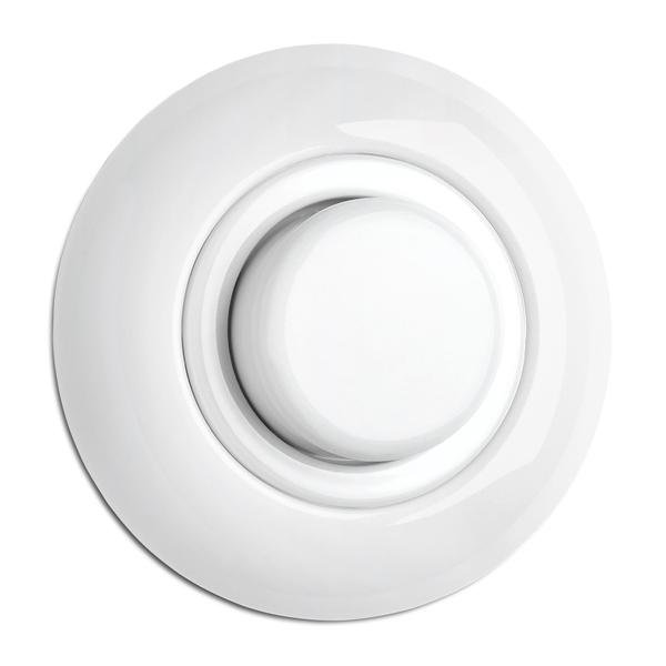 900.0003.PW Dimmer Glühlampen Porzellan, Unterputz-Schaltersystem