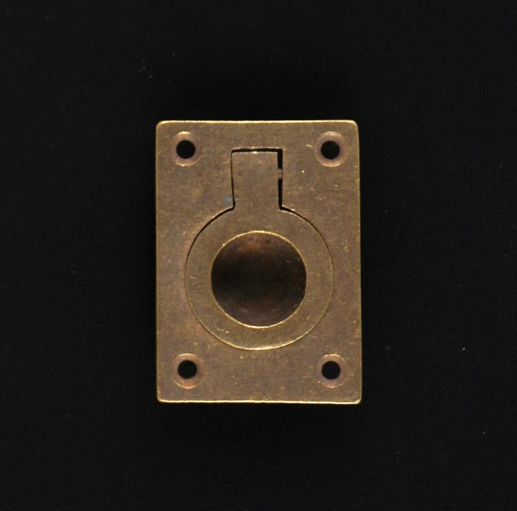 Stirngriff - antike Türmuschel, Schiebemuschel