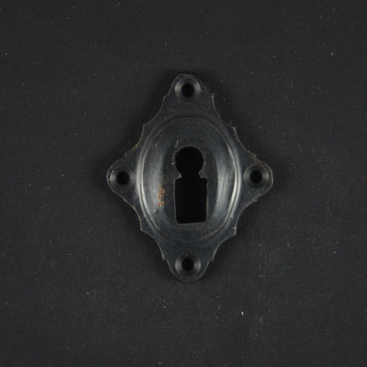 320.0025.70 Schlüsselrosette - antike Tür Rosette, Zierrosette, Türbeschlag