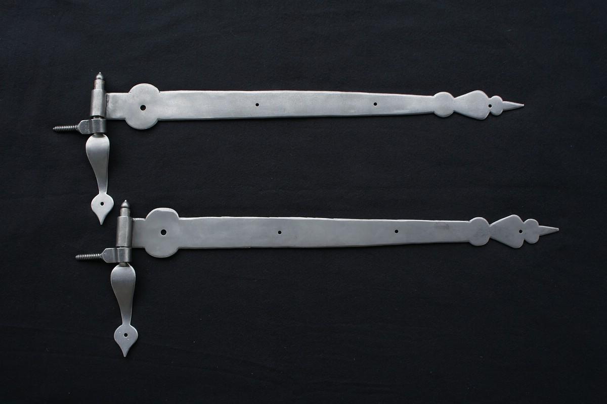 Langbänder mit Schraubkloben (Paar)