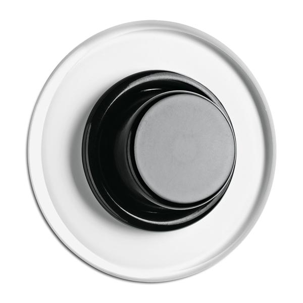 Dimmer Glühlampen , Unterputz-Schaltersystem Glas mit Bakelit schwarz