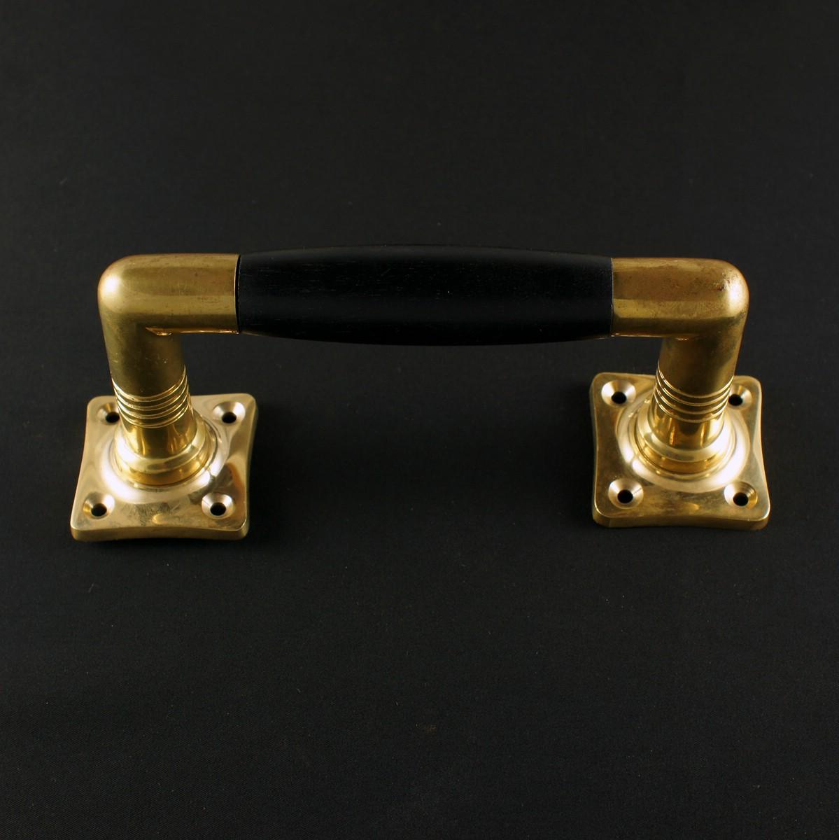 324.0005.35 Ziehgriff - antiker Türgriff, Balkongriff, Terrassentürgriff, Schiebetürgriff