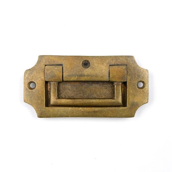 750.0030.45 Küchenschrank- Schubladengriff - antike Türmuschel, Schiebemuschel
