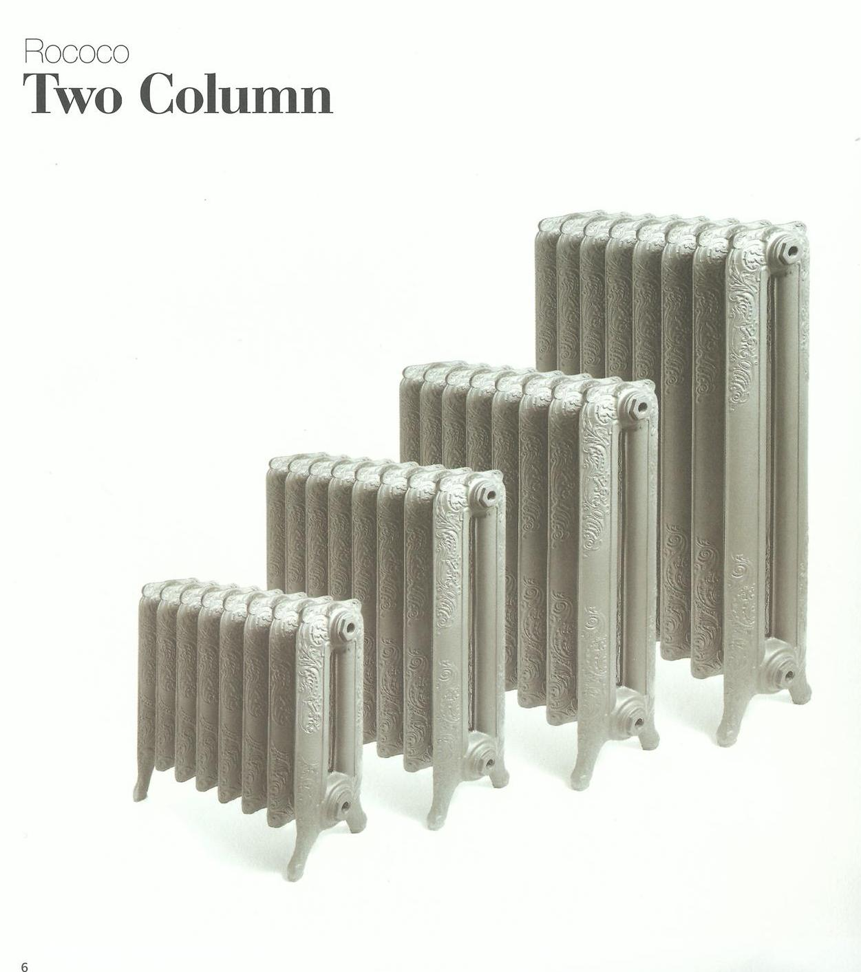 Gusseisenheizelement Two Column