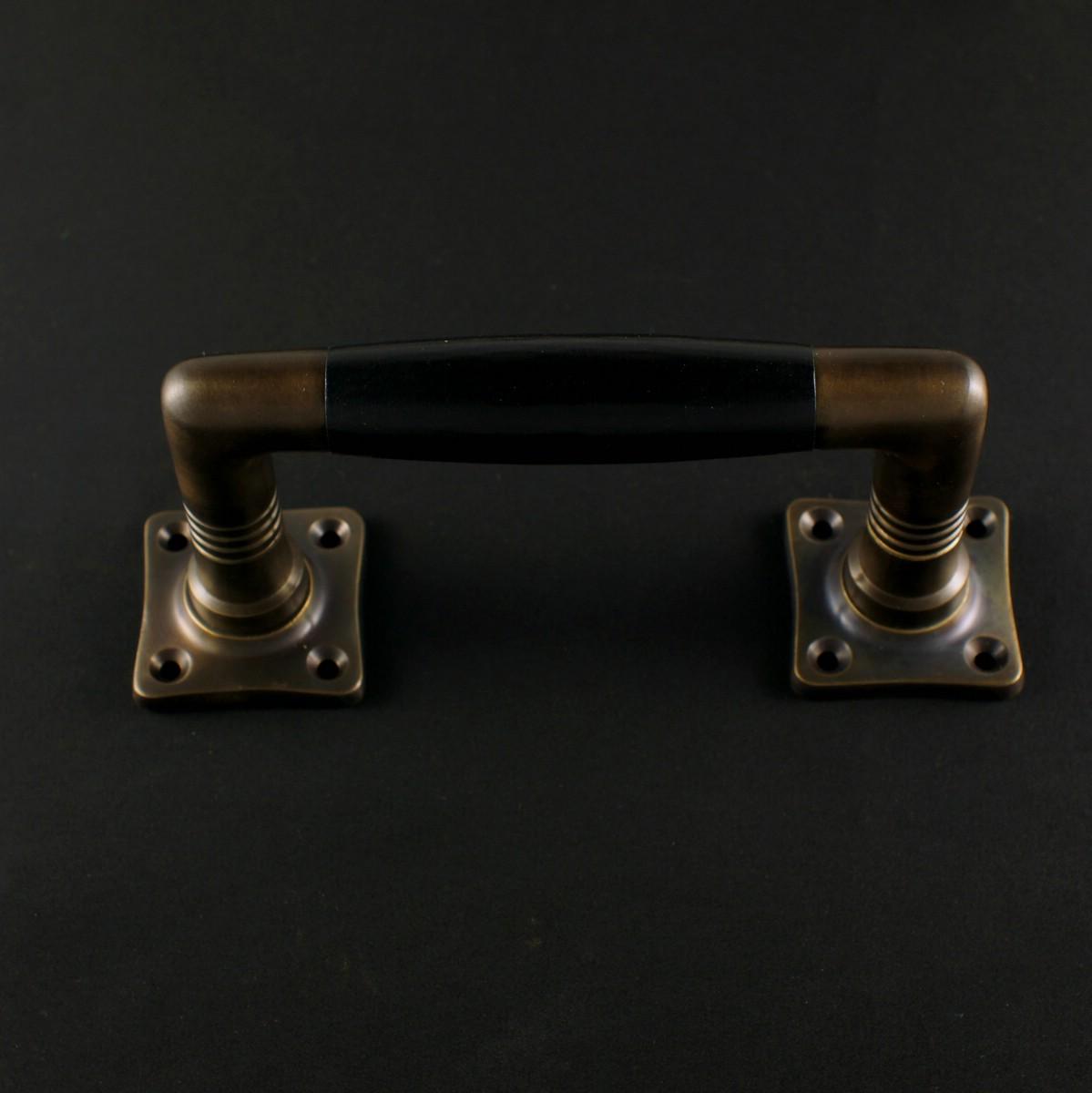 324.0003.45 Ziehgriff - antiker Türgriff, Balkongriff, Terrassentürgriff, Schiebetürgriff