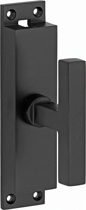 430.0003.07 Basquille Fenstergetriebe 20er Jahre StilMessing pulverbeschichtet schwarz