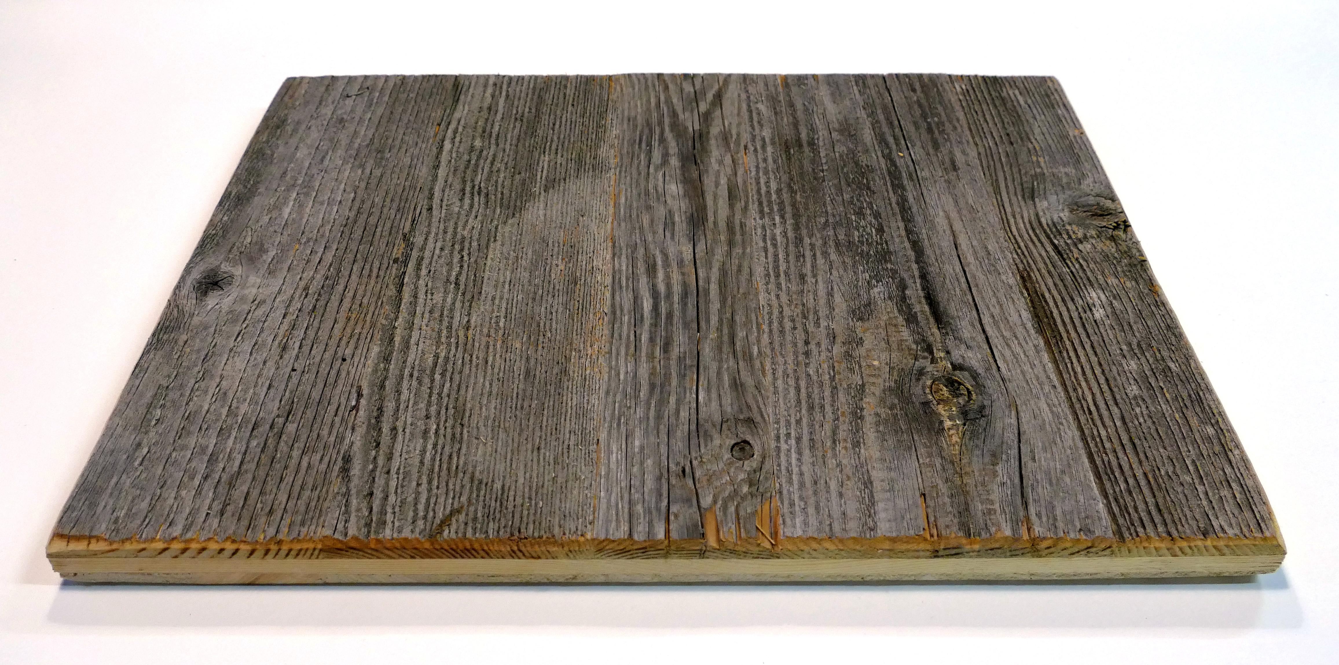 Altholz / Leimholzplatten 3-Schichtplatte grau