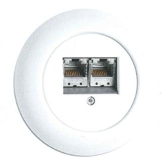 Datendose Porzellan, Unterputz-Schaltersystem